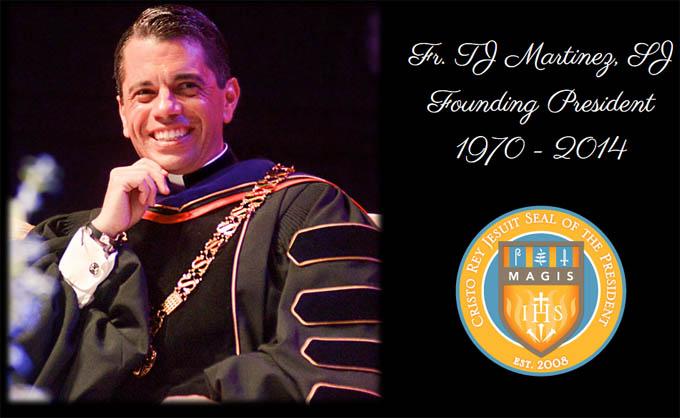 Fr. TJ Martinez, SJ - 1970-2014